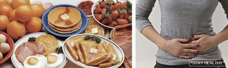 Голодная язва диета