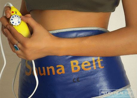 How does a slimming belt work?