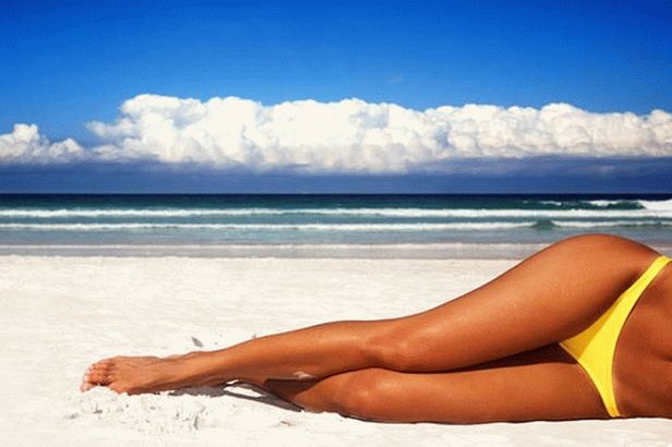 Is it possible to sunbathe after laser hair removal