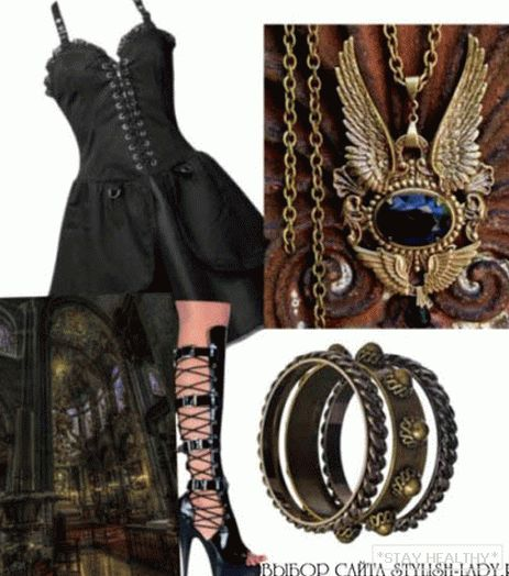 Gothic clothes, фото