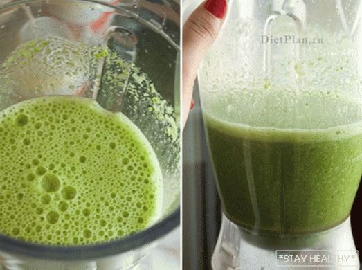Banana and Spinach Smoothies
