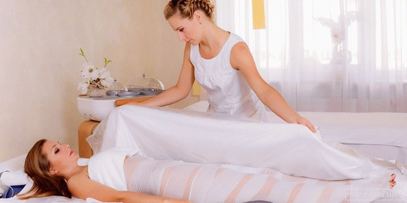 Acetic wrap for slimming belly inhome conditions